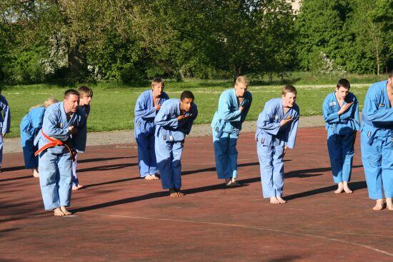Gruppenvorführung Blaugurtstufe